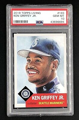2019 Topps Living Set #193 KEN GRIFFEY JR. PSA 10 *POP 30!*