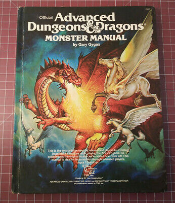 Monster Manual - Dungeons & Dragons AD&D D&D