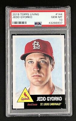 2019 Topps Living Set #144 JEDD GYORKO PSA 10 *In PSA Fit Sleeve!* POP 42
