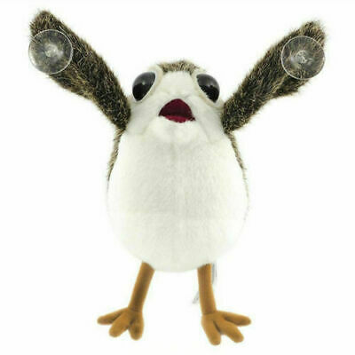 Star Wars The Last Jedi Porg Bird Plush Doll Toy Sucker Pendant On Board Car