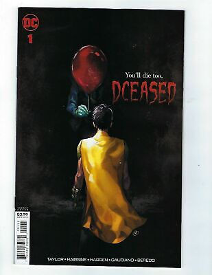 Dceased #1    Horror Variant     NM  DC