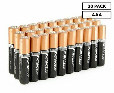 Duracell AAA Batteries 30-Pack