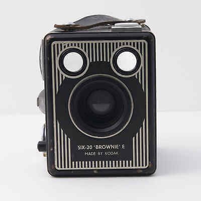 Kodak Six-20 Brownie E Box Camera, all working. Lomography without the Plastic!