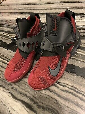NIKE AIR VAPORMAX PREMIER FLYKNIT Team Red/Black 2018 AO3241-600 SIZE 8.5 US