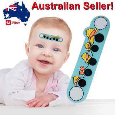 4pc 48hr Baby Thermometer Kids Cartoon Duck Forehead Temperature Monitor Stic...