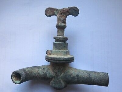 SHIPWRECK TREASURE BRASS KEG TAP from WRECK of THE ISIS off SELLICKS SA c1890