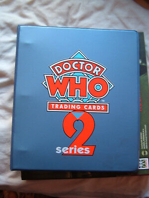 Doctor Who Cornerstone series 2 Binder and Base set 110 cards 111 - 220