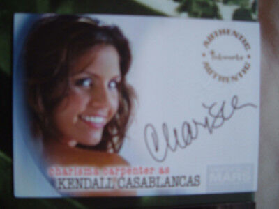 Veronica Mars Season 2 Charisma Carpenter as Kendall Autograph Card A19