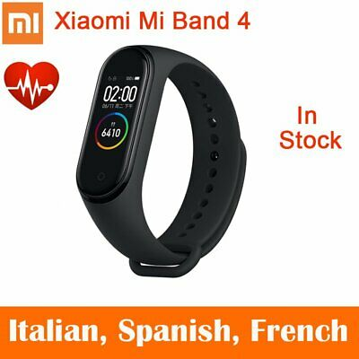 Français VERSION Xiaomi Mi Band 4 Smartwatch Montre Bracelet Écran bluetooth 5.0