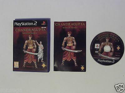 CHANDRAGUPTA WARRIOR PRINCE for PLAYSTATION 2 'VERY RARE'