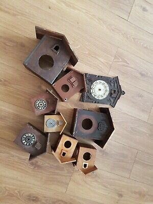 JOB LOT  CUCKOO CLOCK CASES - spares or repair