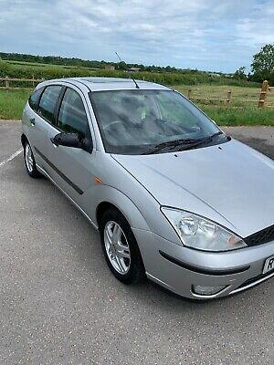 Ford Focus 1.6 petrol 2002 MOT till March 2020