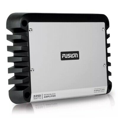 Fusion SG-DA12250 Monoblock Signature Series Marine Amplifier 2250 Watt Class D.