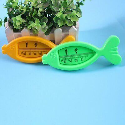 Non-toxic Wet Dry Dual Infants Shower Measuring Thermometers Fish  M◎