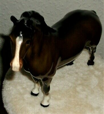 Beswick 1st Version Brown Gloss Welsh Cob Model 1793 in perfect condition.