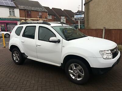 LHD LEFT HAND DRIVE NOW UK REGIST - 2012 DACIA DUSTER 1.5 dCi dIESEL - 54,000ml