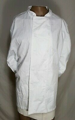 Chef Works Mens Uniform Coat White Gents 2XL Chefworks Oslo Style
