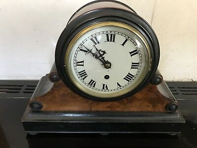 Drum Head Victorian Fuse Clock