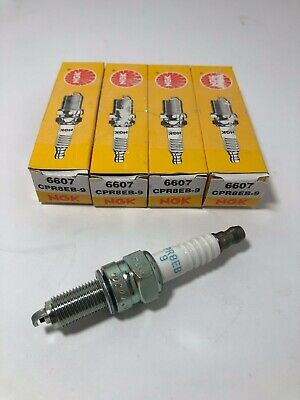 NGK Spark Plugs CPR8EB-9 Box of 4 Plugs