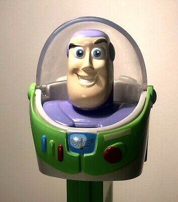 Rare Giant Big Pez Toy Story Buzz Lightyear-30cm+ Tall - Collectable Like New
