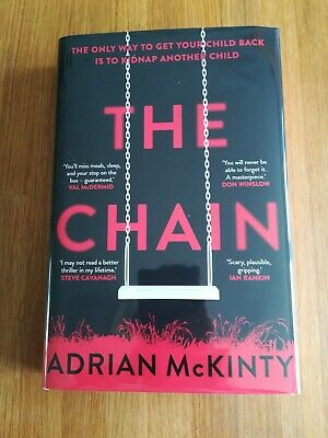 Adrian McKinty The Chain *SIGNED/NUMBERED RED SPRAYED EDGES LTD EDTN NEW!