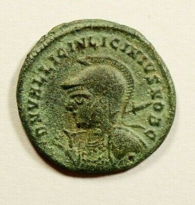 ARMED BUST - LICINIUS II Constantine the Great Nephew 321AD Ancient Roman Coin