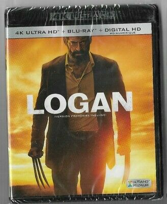 New Sealed 4K Ultra HD - Blu-Ray - LOGAN  -  Also In French