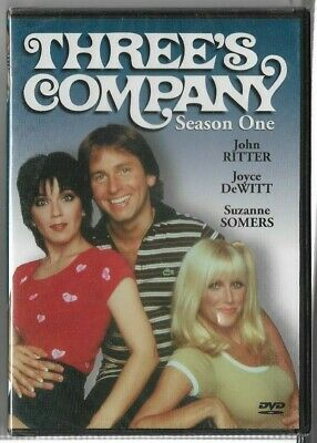 New Sealed DVD - THREE'S COMPANY - SEASON 1