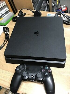 Sony PlayStation 4 Slim 500GB Matte Black Console