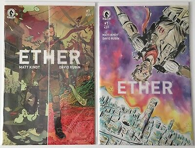 Ether #1 Set Of 2 Covers David Rubin 'A' & Jeff Lemire Variant Nm 1St Printings