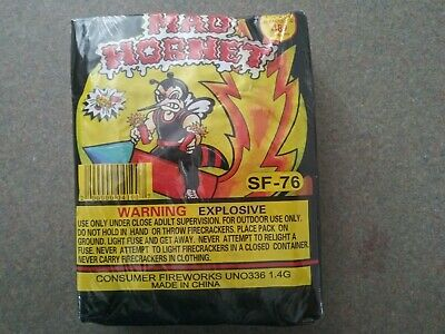 Fireworks labels collectible Firecrackers Mad Hornet