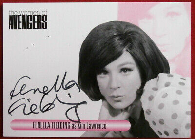 The Women Of The Avengers - FENELLA FIELDING - VARIANT #1 - Autograph Card WAFF