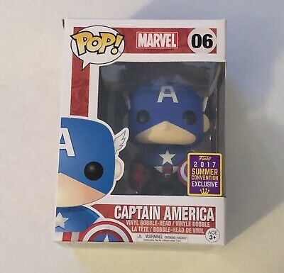 Funko Pop Captain America 2017 Summer Convention Exclusive #06