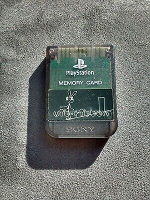 Play Station Ps1 Psx Psone Memory Card Oficial 1Mb Sony Color A Elegir Scph-1020