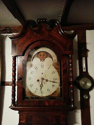 Antique longcase clock for restoration