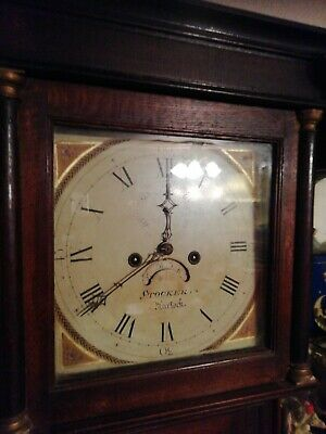 Antique longcase clock spares or repair