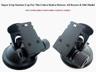 1 New Design Suction Cup / Mount  For The All Recent COBRA Radar Detector Models