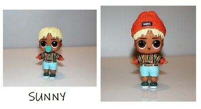 NEW LOL Surprise Dolls Boys • SUNNY • B-002  Series 1 for Dawn from confetti pop