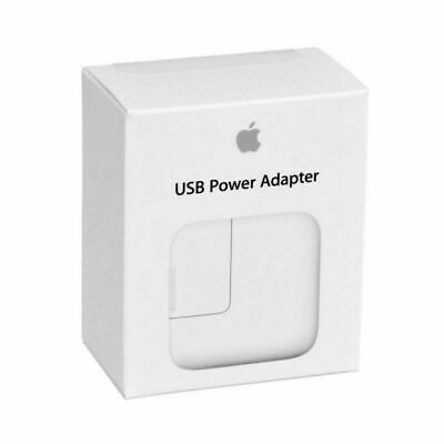 Genuine Original Apple 12W USB Adapter Wall Charger for iPhone iPad 2 3 4 Air