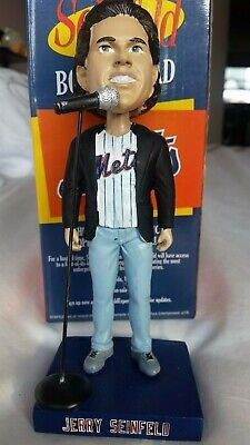 Jerry Seinfeld New York Mets Bobblehead Seinfeld Night Giveaway Free Shipping!!