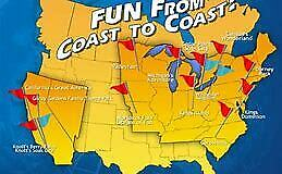 2 CEDAR FAIR PARKS TICKETS - Cedar Point OH, Carowinds NC, Knott's Soak City CA