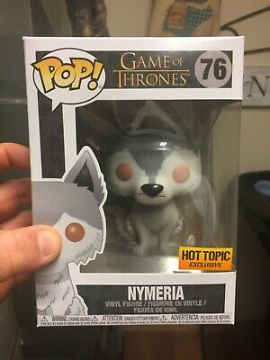 Funko Pop! Nymeria Game of Thrones Hot Topic Exclusive