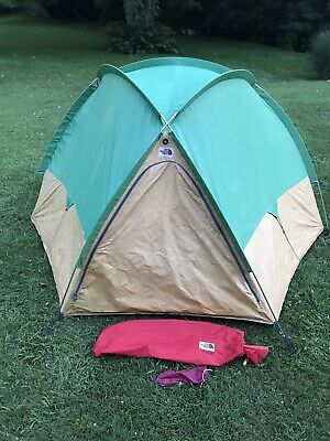 Vintage The North Face Brown Label Camping Tent Complete 80ś USA