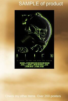 LAMINATED,MOVIE,ALIEN IN SPACE, LUNDGRE,ART POSTER PRINT, 61x91CM (24x36inch)
