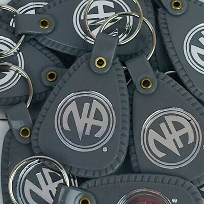 NARCOTICS ANONYMOUS NA KEY TAG Gray 18 Months Recovery 12 LOT English -  £15.73 | PicClick UK