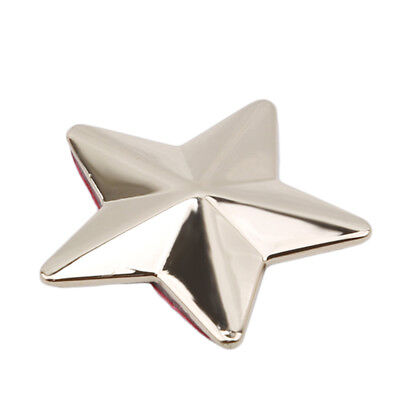 Silver//Gold Car Motorcycle 3D  Star Metal Alloy Sticker Emblem Badge Decal S