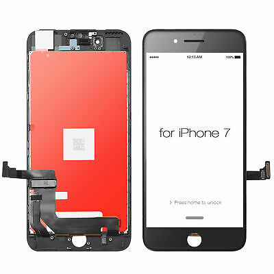 OEM Quality For iPhone 7 Black Replacement LCD Screen Digitizer Assembly Apple