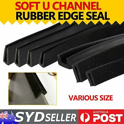 U CHANNEL PINCHWELD Rubber Seal Trim Strip Cars Trunk Door