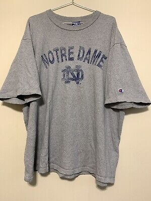 Details about Notre Dame Fighting Irish Embroidered Logo Large College Sports Sweatshirt