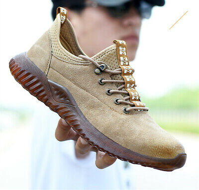 New Mens/Womens Safety Shoes Steel Toe Cap Work  Protective Footwear Trainers